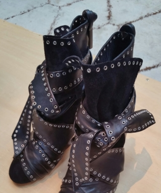 The Perfect Front Row Boot by Isabel Marant