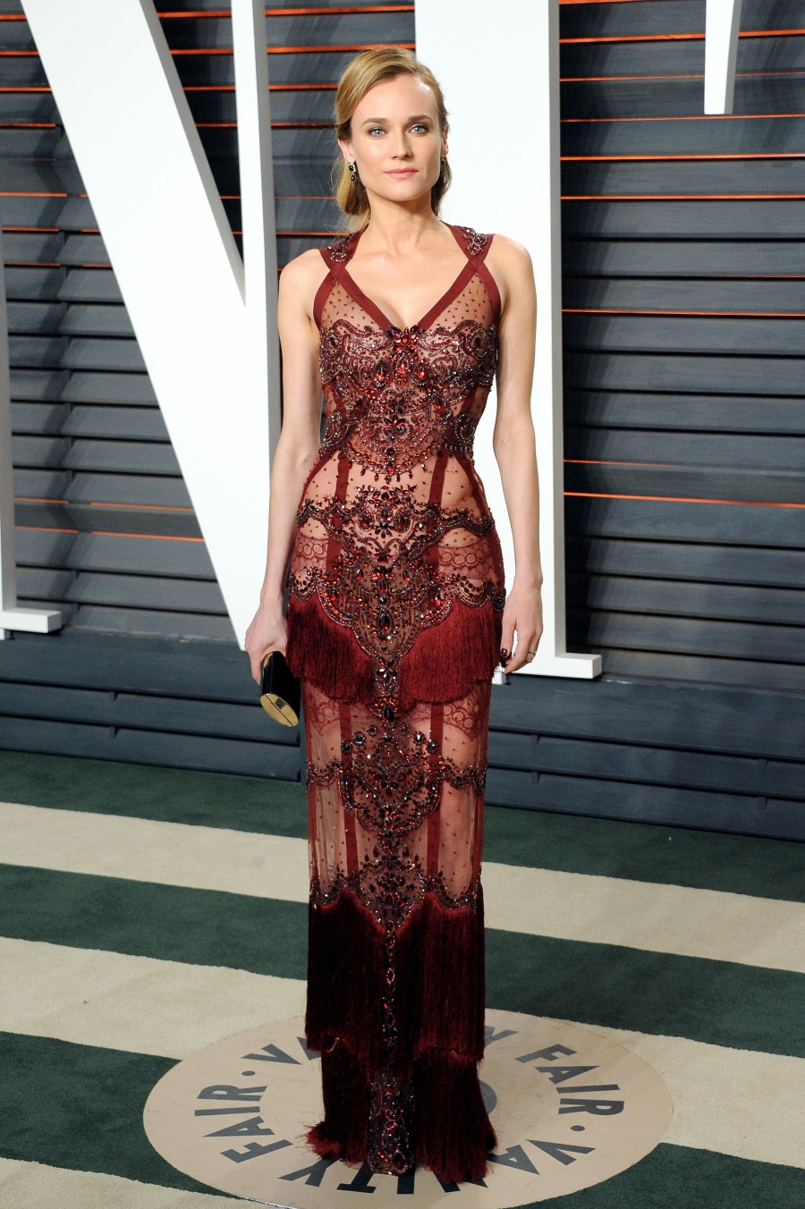 Erte Boudior at The Vanity Fair Oscar Party