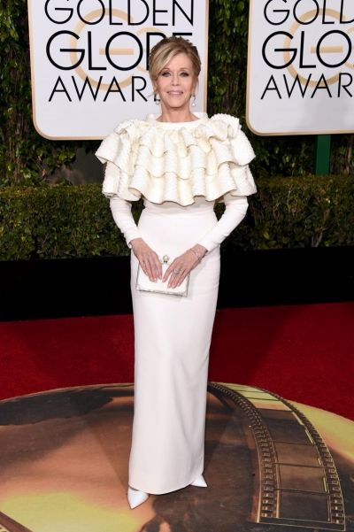 Golden Globes Trends 2016 - Ruffles